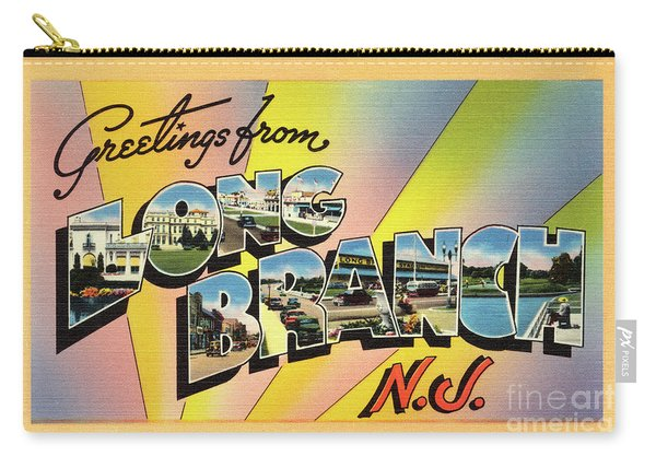 Long Branch Greetings Carry-all Pouch