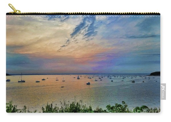 Long Island Sound From Glen Cove Carry-all Pouch