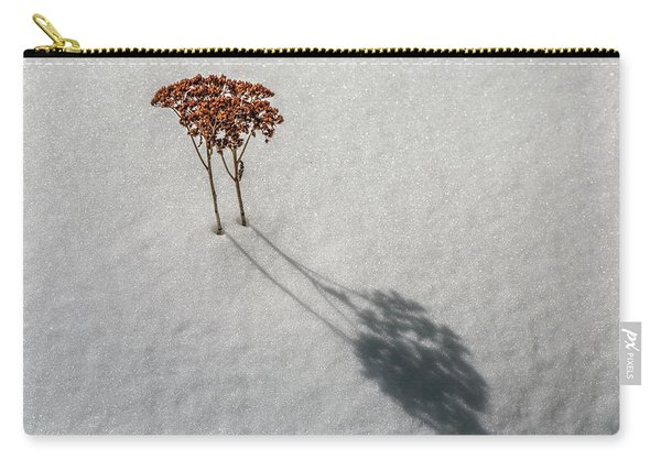 Long Shadow Of Winter Carry-all Pouch