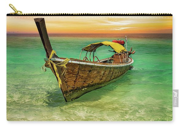Longboat Sunset Thailand  Carry-all Pouch