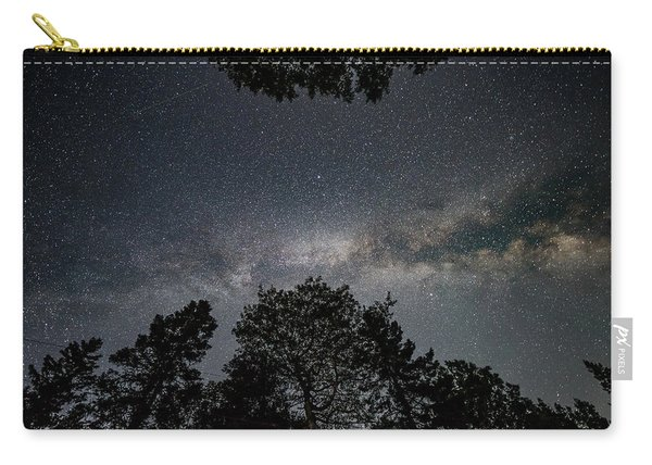 Looking Up At The Milky Way Carry-all Pouch