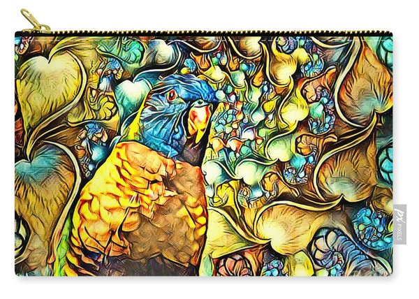 Lorikeet Fantasy. Carry-all Pouch