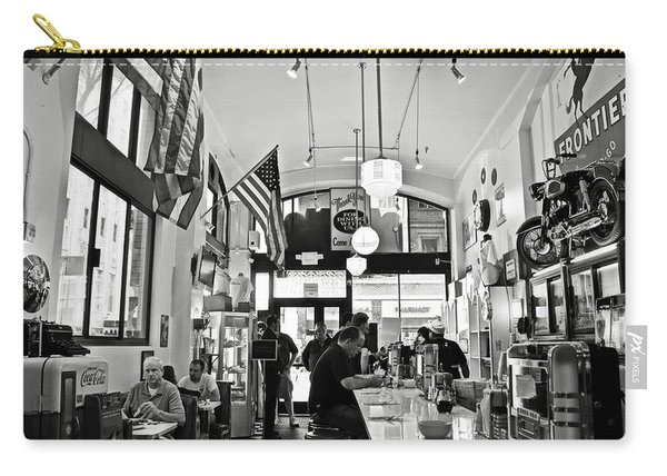Loris Diner San Francisco Bw Carry-all Pouch