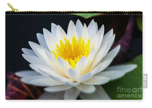 Lotus Gold Carry-all Pouch
