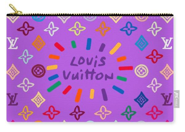 Louis Vuitton Monogram-8 Carry-all Pouch