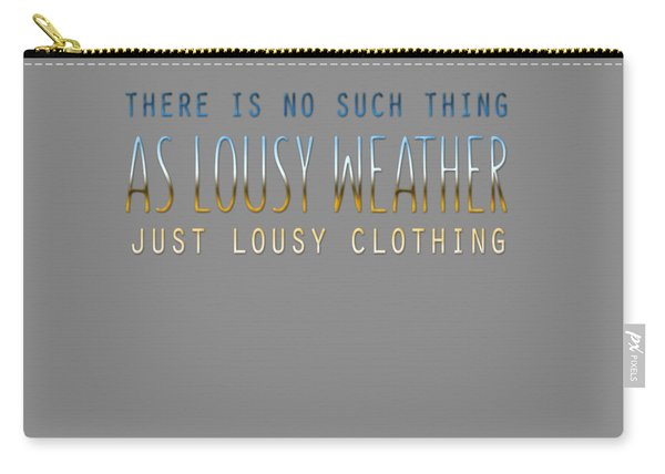 Lousy Clothing Carry-all Pouch