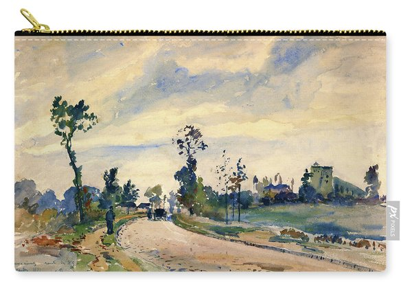 Louveciennes, Road Of Saint-germain - Digital Remastered Edition Carry-all Pouch