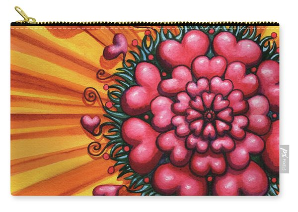 Love Blossom Carry-all Pouch