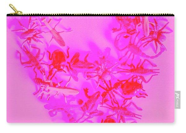 Love Bug Pop Heart Carry-all Pouch