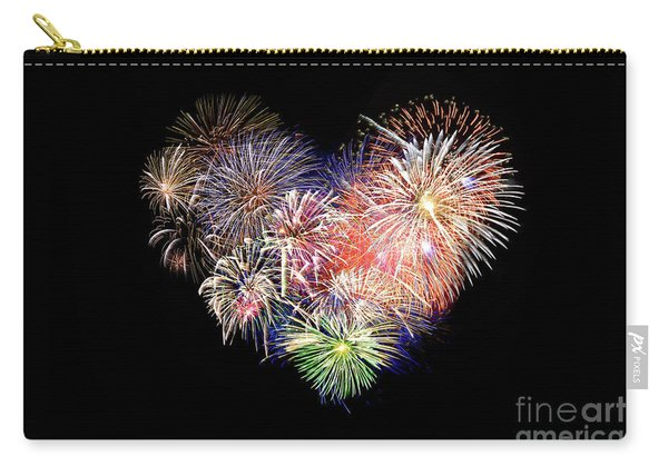 Love Fireworks Carry-all Pouch