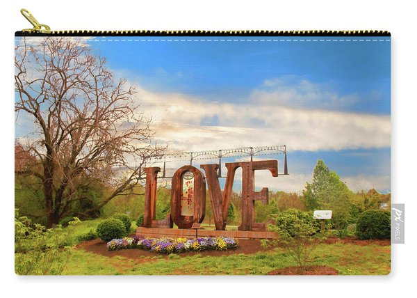 Love In Farmville Virginia Carry-all Pouch