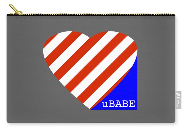 Love Ubabe America Carry-all Pouch