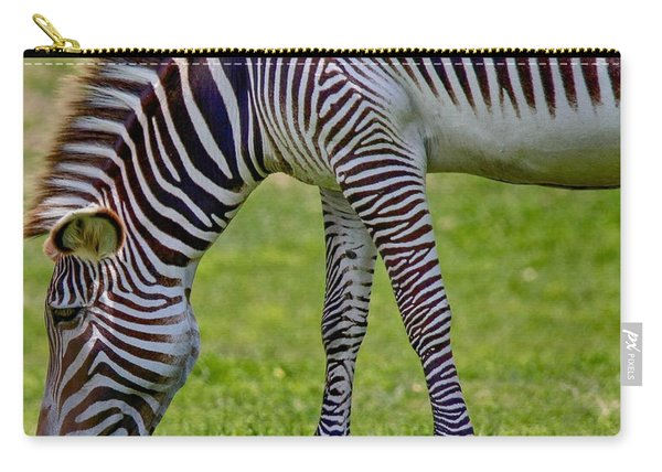 Love Zebras Carry-all Pouch