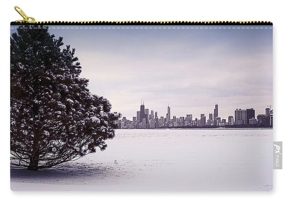 Lovely Winter Chicago Carry-all Pouch