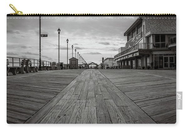 Low On The Boardwalk Carry-all Pouch