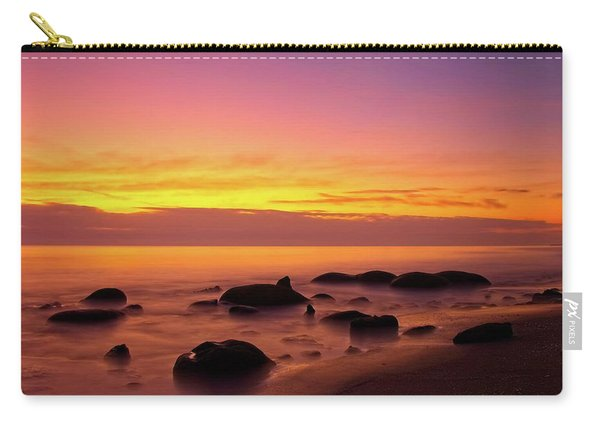 Low Tide Nautical Twilight Carry-all Pouch