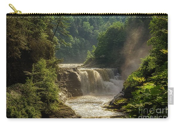 Lower Falls Letchworth State Park Carry-all Pouch