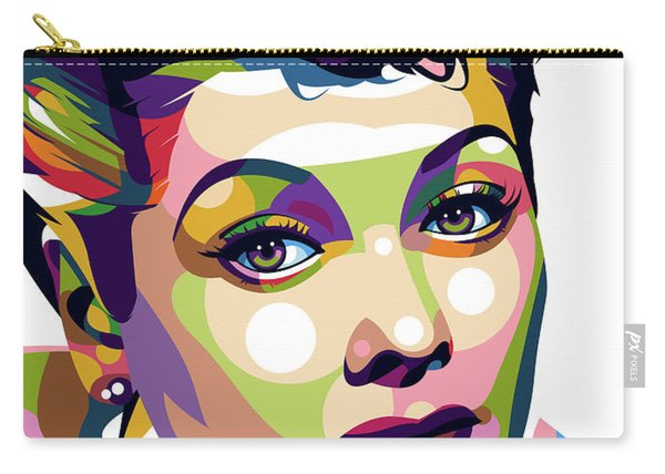 Lucille Ball Carry-all Pouch