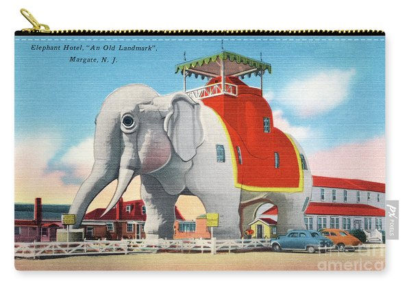 Lucy The Elephant Carry-all Pouch