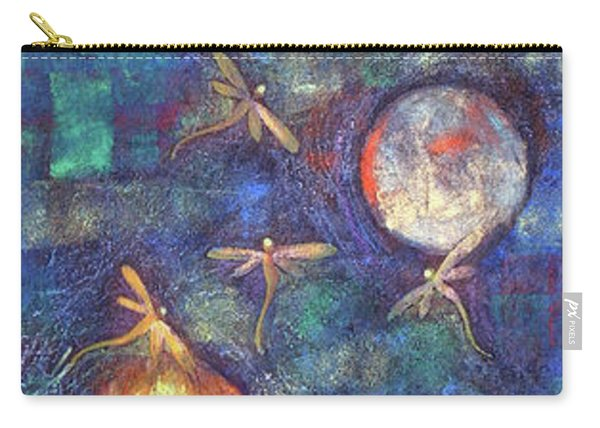 Luminous Dragonflies Carry-all Pouch