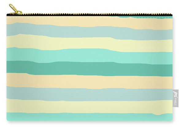 lumpy or bumpy lines abstract and summer colorful - QAB271 Carry-all Pouch