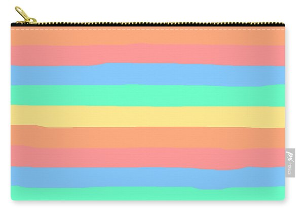 lumpy or bumpy lines abstract and summer colorful - QAB275 Carry-all Pouch