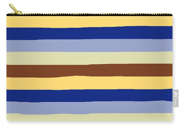 lumpy or bumpy lines abstract and summer colorful - QAB277 Carry-all Pouch