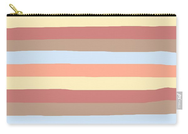 lumpy or bumpy lines abstract - QAB281 Carry-all Pouch