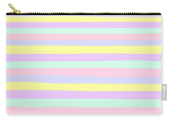 lumpy or bumpy lines abstract - QAB283 Carry-all Pouch
