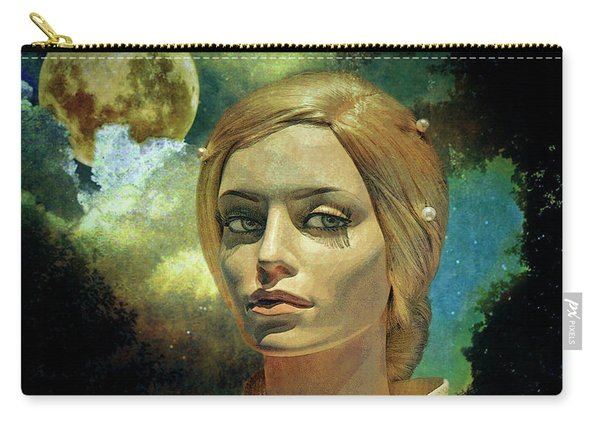 Luna In The Garden Of Evil Carry-all Pouch