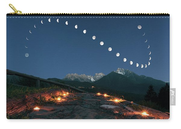 Lunar Curve Carry-all Pouch