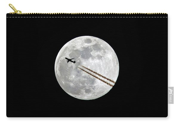 Lunar Photobomb Carry-all Pouch