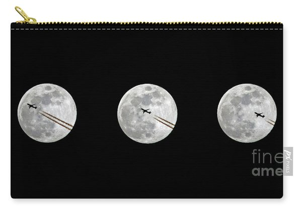 Lunar Silhouette In Sequence Carry-all Pouch