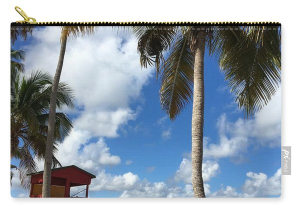 Luquillo Beach Carry-all Pouch
