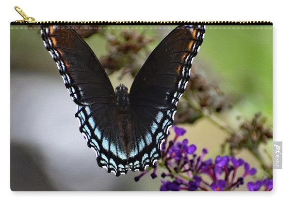 Luxurious Red-spotted Purple Carry-all Pouch
