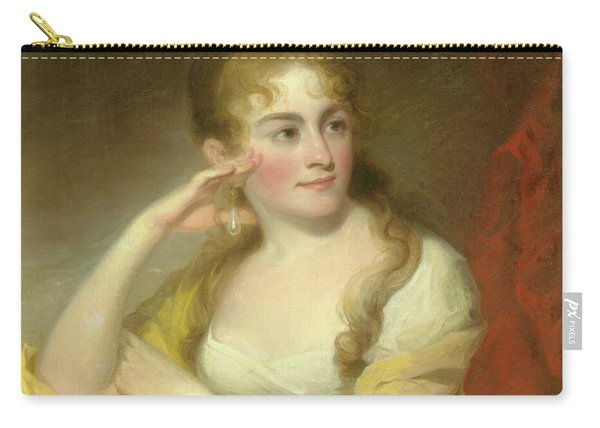 Portrait Of Lydia Leaming, 1806 Carry-all Pouch