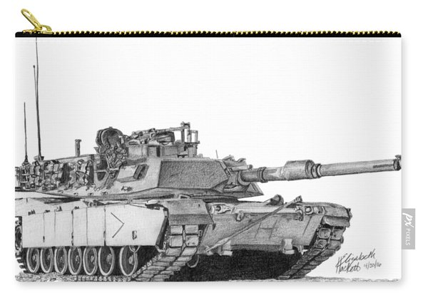 M1a1 B Company Commander Tank Carry-all Pouch