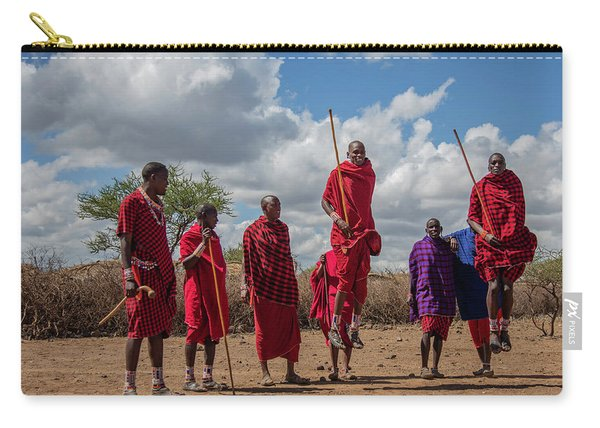 Maasai Adumu Carry-all Pouch