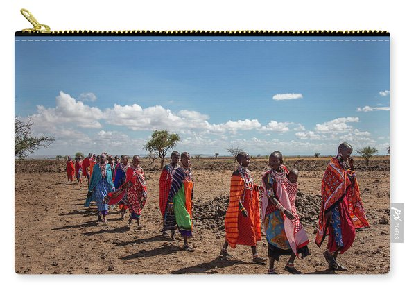 Maasi Women Carry-all Pouch
