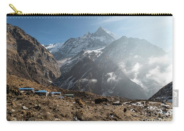 Machhapuchhare Base Camp In Nepal Carry-all Pouch