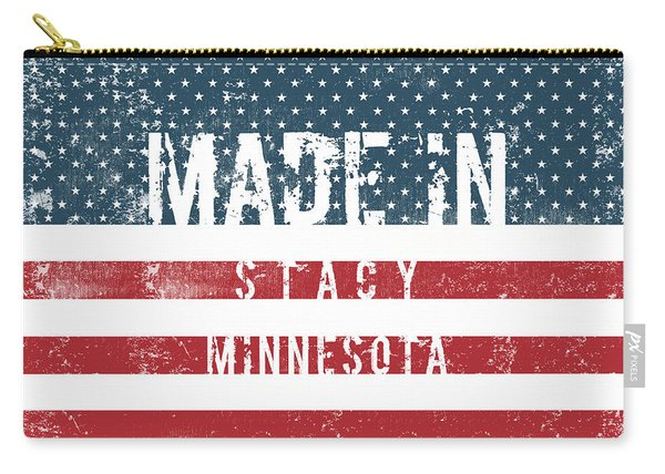 Made In Stacy, Minnesota #stacy #minnesota Carry-all Pouch