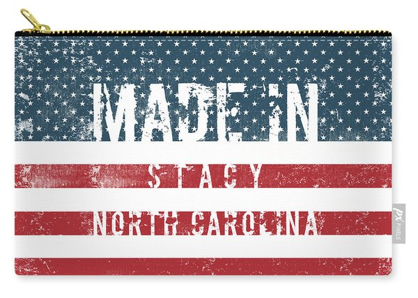 Made In Stacy, North Carolina #stacy #north Carolina Carry-all Pouch