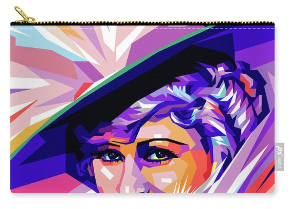 Mae West Pop Art Carry-all Pouch