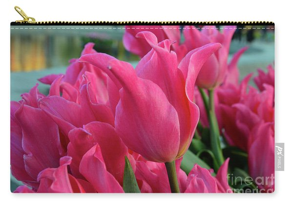 Magenta Scene Carry-all Pouch
