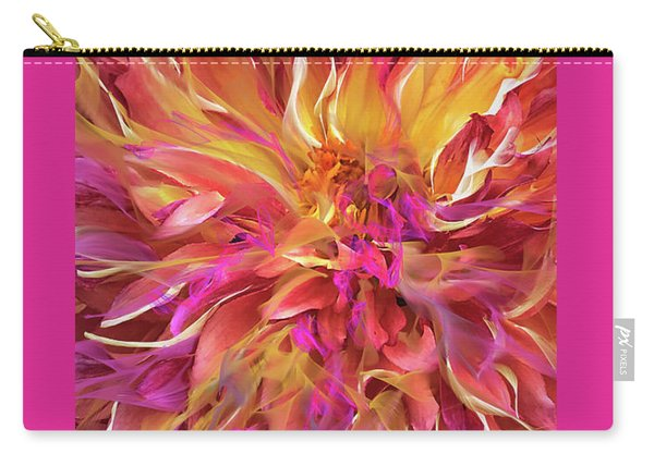 Magenta Sunshine Carry-all Pouch