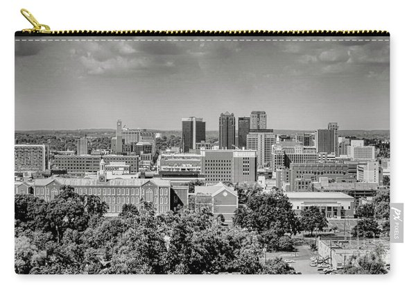 Magic City Skyline Bw Carry-all Pouch