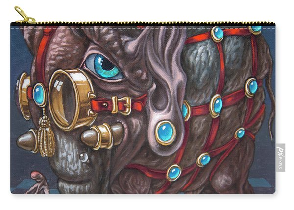 Magical Many-eyed Elephant Carry-all Pouch