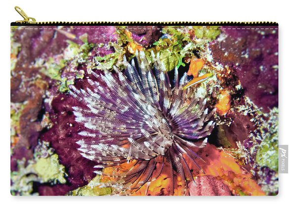 Magnificent Feather Duster Carry-all Pouch