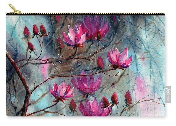 Magnolia At Midnight Carry-all Pouch