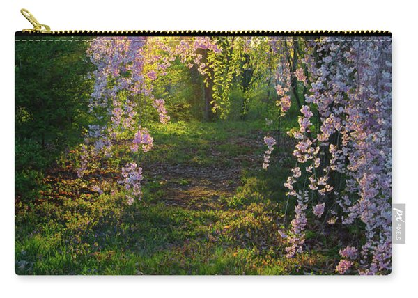 Magnolia Tree Sunset Carry-all Pouch